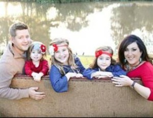 Ryan Robicheaux and family